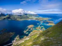 wyspy lofoten obrazy stock
