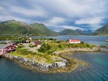 wyspy lofoten zdjęcia royalty free