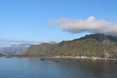 wyspy lofoten Norway obrazy stock