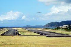 wyspy lotniskowy st Thomas Zdjęcia Royalty Free