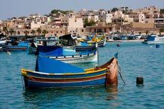 wyspy Malta marsaxlokk Fotografia Stock