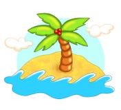 wyspy morze ilustracji