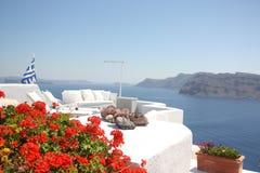 wyspy Oia santorini Obrazy Royalty Free