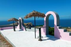 wyspy Oia santorini Obraz Royalty Free