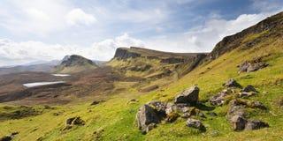wyspy quirang Scotland skye Obraz Royalty Free