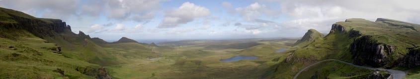 wyspy quirang skye Zdjęcie Royalty Free