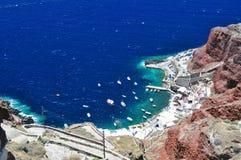 wyspy santorini obraz stock