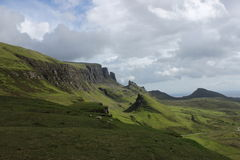 wyspy Scotland skye trotternish ridge Obraz Royalty Free