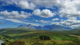 wyspy Scotland skye trotternish ridge Zdjęcia Stock