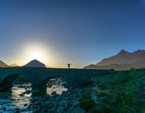 wyspy Scotland skye trotternish ridge zdjęcia royalty free