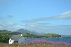 wyspy Scotland skye trotternish ridge Obrazy Stock