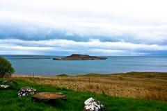 wyspy Scotland skye trotternish ridge obraz stock