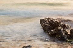 wyspy sechung zmierzch Obrazy Royalty Free