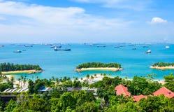 wyspy sentosa Singapore Obraz Royalty Free