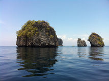 wyspy skaliste Fotografia Royalty Free