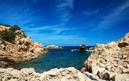 wyspy spargi Obrazy Royalty Free