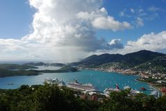 wyspy st. Thomas bay Fotografia Royalty Free