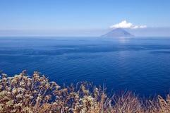 wyspy stromboli Zdjęcie Royalty Free