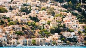 wyspy symi Zdjęcia Royalty Free