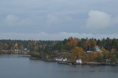 Wyspy Szwecja w morzu bałtyckim obraz royalty free
