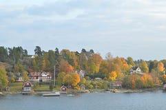 Wyspy Szwecja w morzu bałtyckim fotografia stock