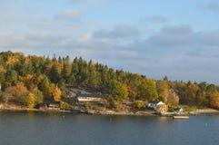 Wyspy Szwecja w morzu bałtyckim zdjęcia stock