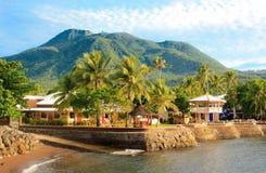 wyspy tropikalny krajobrazowy Camiguin zdjęcia stock