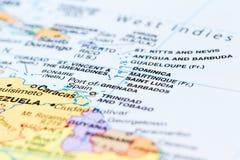 Wyspy w Caribean Zdjęcia Stock