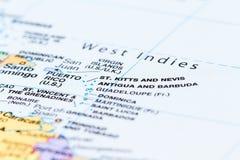 Wyspy w Caribean Zdjęcie Stock