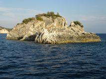 Wyspy w Ionian morzu, Grecja Obraz Royalty Free