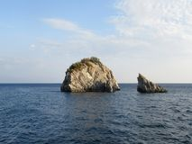 Wyspy w Ionian morzu, Grecja Obraz Stock