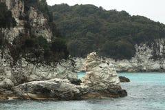 Wyspy w Ionian morzu, Grecja Fotografia Stock