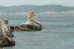 Wyspy w Ionian morzu, Grecja Zdjęcie Royalty Free