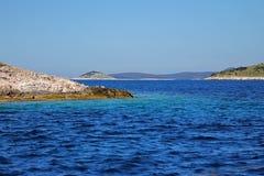 Wyspy w morzu Zdjęcia Stock