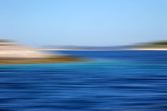 Wyspy w morzu Obraz Stock
