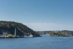 Wyspy w morzu bałtyckim Zdjęcia Royalty Free