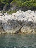 Wyspy wybrzeże Zdjęcie Stock