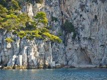 Wyspy wybrzeże Obrazy Stock