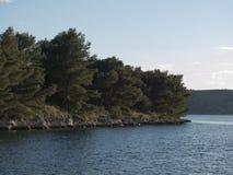 Wyspy wybrzeże Obraz Stock