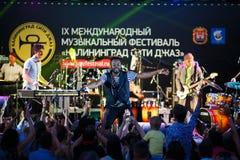Występ kwacza kwacza międzynarodowo festiwal jazzowy Fotografia Stock