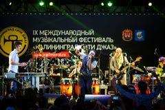 Występ kwacza kwacza międzynarodowo festiwal jazzowy Fotografia Royalty Free