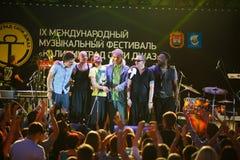Występ kwacza kwacza międzynarodowo festiwal jazzowy Obrazy Royalty Free