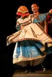 Występ na scenie aktorzy, soliści, piosenkarzi i tancerze teatru narodowego rosjanina piosenka, Zdjęcie Royalty Free