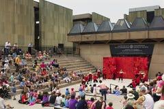 Występ przed konfederaci Centre sztuki w Cana obrazy stock