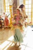 Występ przy górską chatą de Versailles, Francja Zdjęcia Stock
