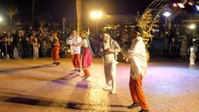 Występ taniec spółdzielnia na ulicie zdjęcie wideo