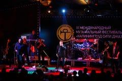 Występ UB40 międzynarodowo festiwal jazzowy Zdjęcie Stock