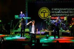 Występ UB40 międzynarodowo festiwal jazzowy Obrazy Stock