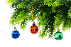 występować samodzielnie dekoracji świątecznej Zdjęcie Royalty Free