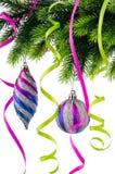 występować samodzielnie dekoracji świątecznej Obrazy Stock